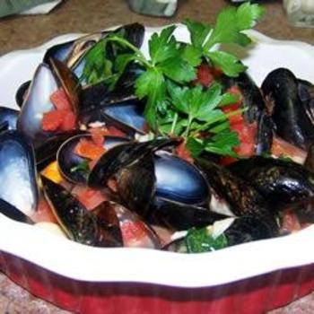 Steamed Mussels II: Seafood Recipes, White Wines, Allrecipes Co Uk, Recipes Seafood, Appetizer, Mussels Ii, Steamed Mussels