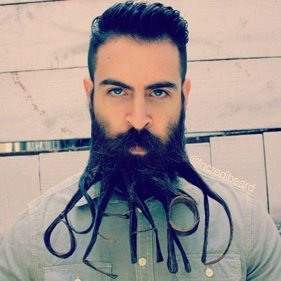 Facial Hair Styles on Pinterest | Mohawk Hair Men, Pomade Hairstyle M…