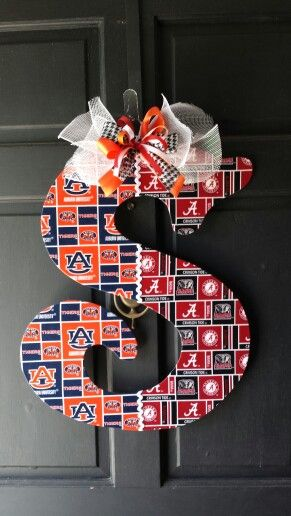 House Divided Door Hanger by Bless Your Heart Art. kathryncrews@comcast.net