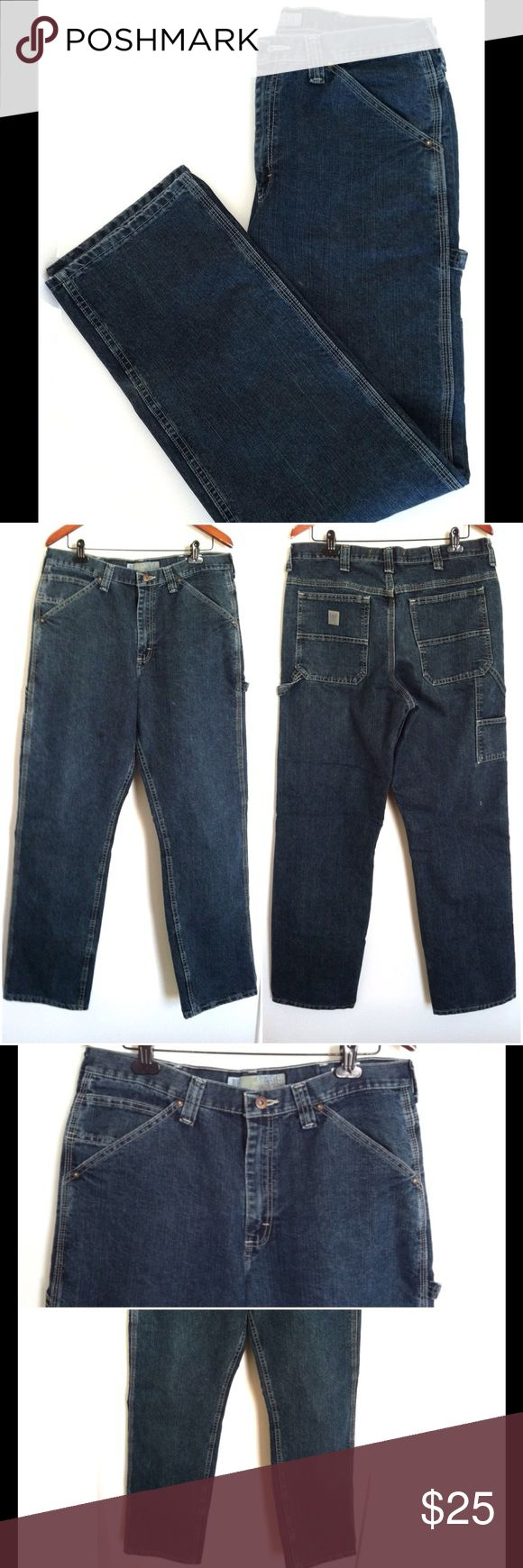 👖Lee Dungarees Carpenter Men's Jeans, Size 36x34 ✔️ Lee Dungarees Men's Jeans ✔️ Size: 36x34 ✔️ Color: Dark Denim ✔️ Style: Carpenter ✔️ Relaxed fit ✔️ Excellent condition.  Like New!  If you have any other questions, don't hesitate to ask below 📥 Lee Jeans Relaxed