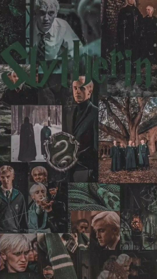 Credits Ninnastv From Tik Tok Slytherin Wallpaper Harry Potter Background Harry Potter Pictures