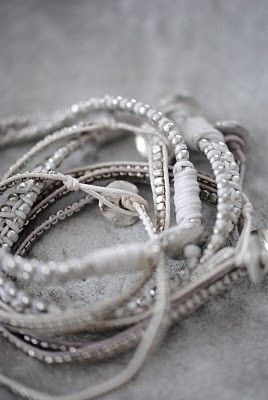 bracelets that are natural & sparkle