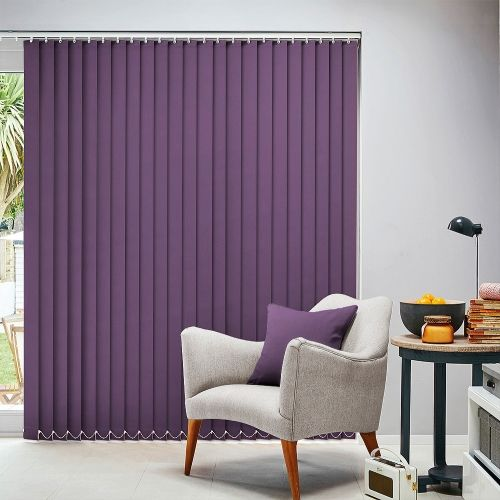 Carnival Purple Vertical Blind