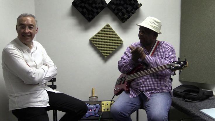 Glenn Robertson Interviewing Spencer Mbadu for The African Musicians Tru...