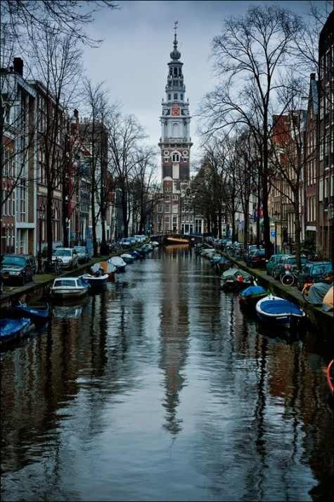 I really like the idea of Amsterdam about traveling in boats around the city.