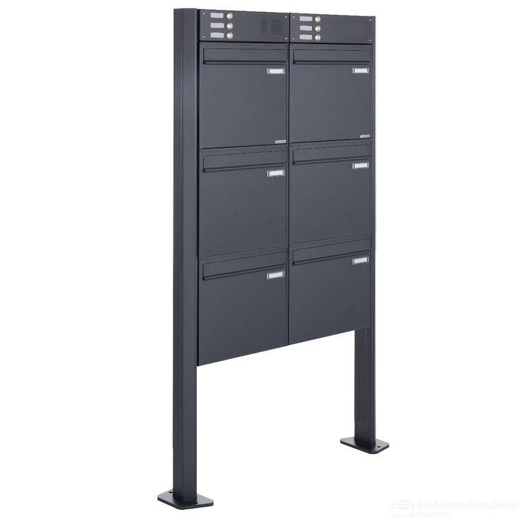 168 best freistehende briefkastenanlagen images on pinterest. Black Bedroom Furniture Sets. Home Design Ideas
