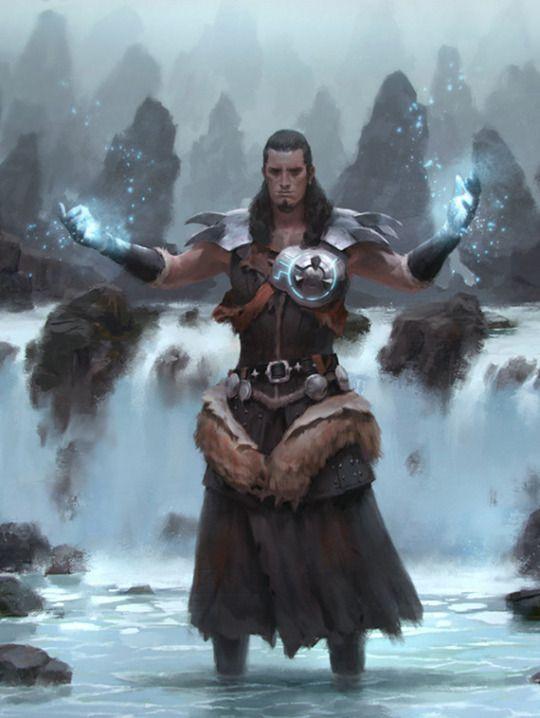 Sorcerer with medium armor