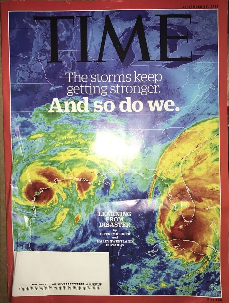 Time Magazine September 25 2017 THE STORMS KEEP GETTING STRONGER AND SO DO WE    eBay