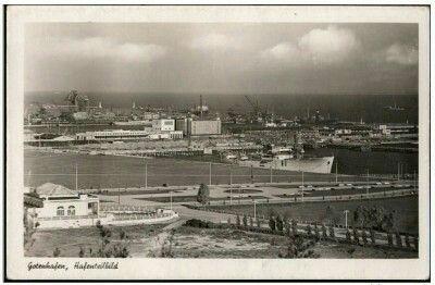 Gdynia widok na port Wyd. Julius Simonsen Oldenburg in Holstein