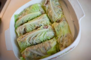 Wild Rice- Stuffed Cabbage Rolls from Forks Over Knives – A-Maz-Zing!!! |