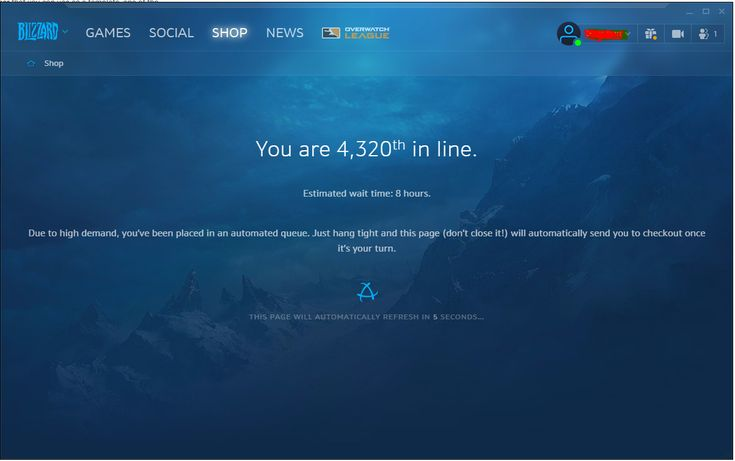 Pre-Order wait is as bad as Lich King login times #worldofwarcraft #blizzard #Hearthstone #wow #Warcraft #BlizzardCS #gaming