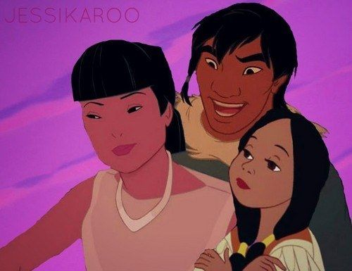 these are really cool, disney cross over families. click the link and comment your favorite one. I ship it.
