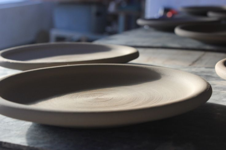 Plates. Stephen Pearce Pottery, Shanagarry, Cork, Ireland.