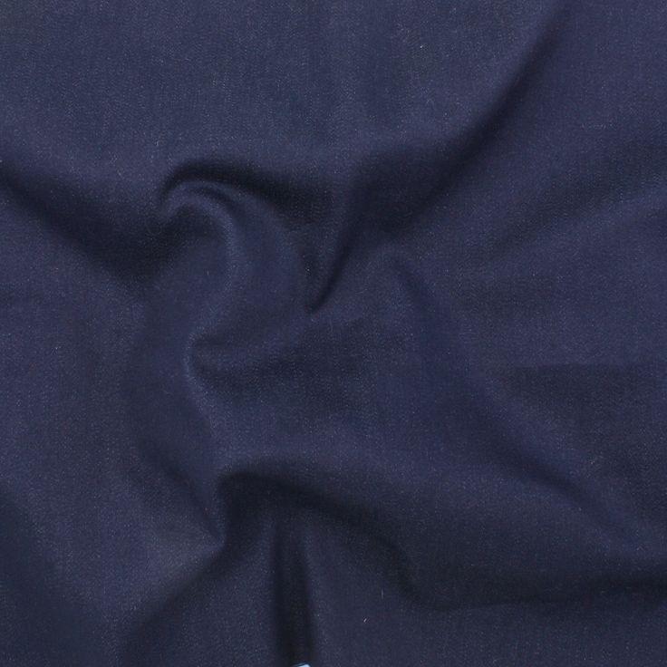 Stretch Bengaline 6.5 oz Denim - Dark Blue - Distinctive Sewing Supplies
