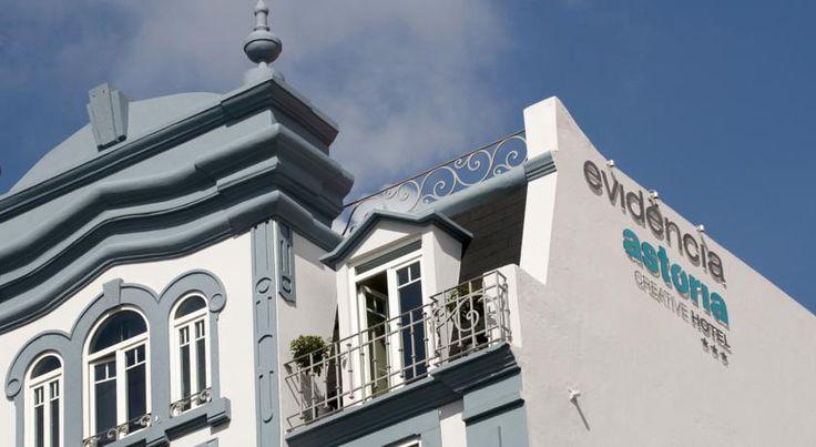 Evidência Astória Creative Hotel -  É um hotel irreverente colado ao Marquês de Pombal, para viajantes jovens e descomplicados