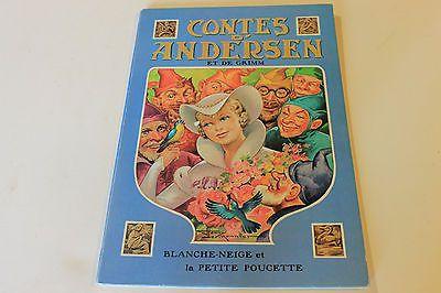 Contes D Andersen Et De Grim Blanche Neige Et La Petite Poucette Hemma