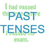 Past tenses exercise: choosing past simple or past perfect tense