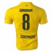 Borussia Dortmund 2014-2015 Gundogan #8 Champion League jersey
