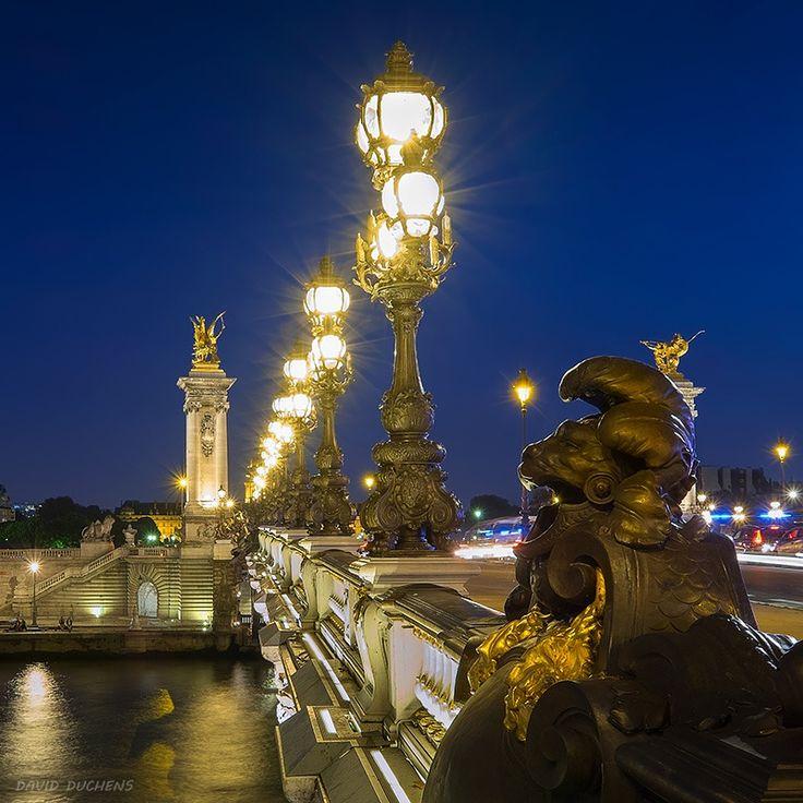 Alexander III bridge by David Duchens on 500px