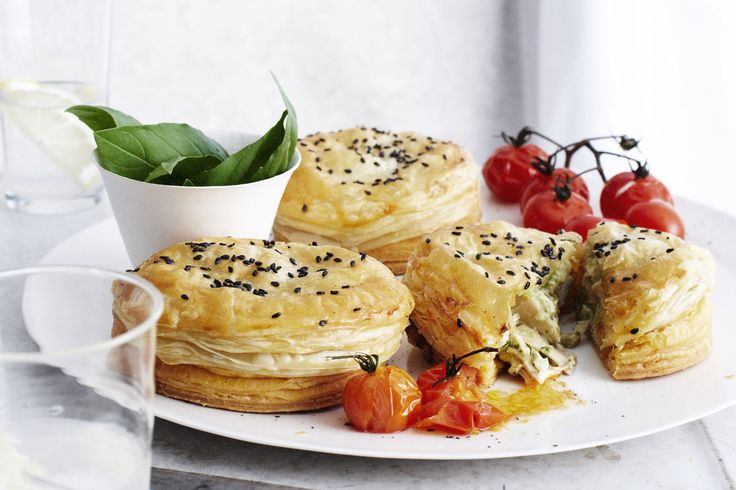 The idea of using vol-au-vent cases came from my former assistant Georgina. It's quite ingenious and means no soggy bottomed pies – thanks Georgie!