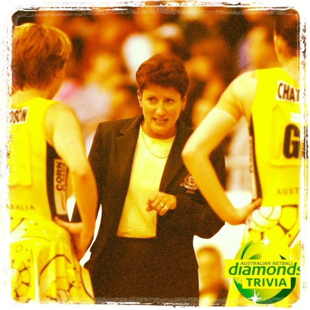 Diamonds Trivia: which Australian netball coach is this & how many years did she coach the team for?