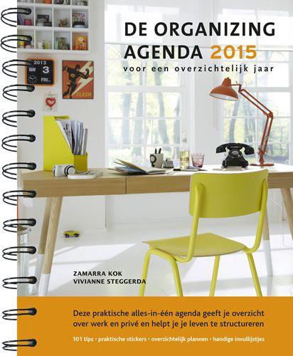 Deze praktische alles-in-één agenda geeft je overzicht over werk en privé en helpt je je leven te structureren.