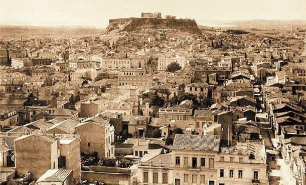 Η Αθήνα του… 1910, σε φωτογραφία τραβηγμένη από τον Λυκαβηττό.