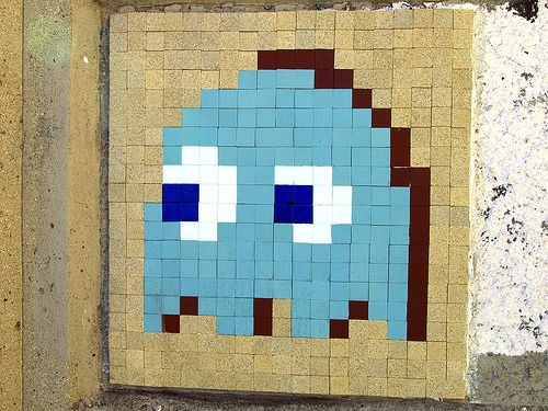 Pac Man Ghost (by Space Invader)