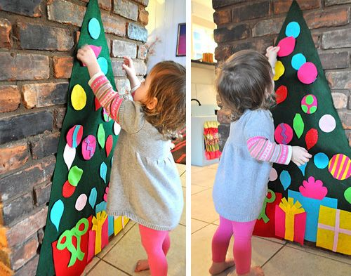Christmas crafts - Felt Tree