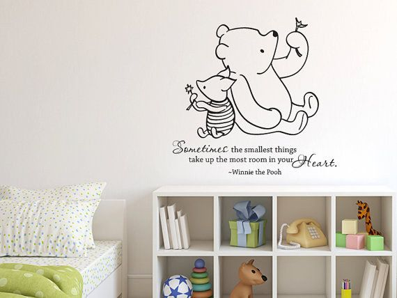 And surround them with words of love.   33 Perfectly Subtle Ideas For Your Disney-Themed Nursery