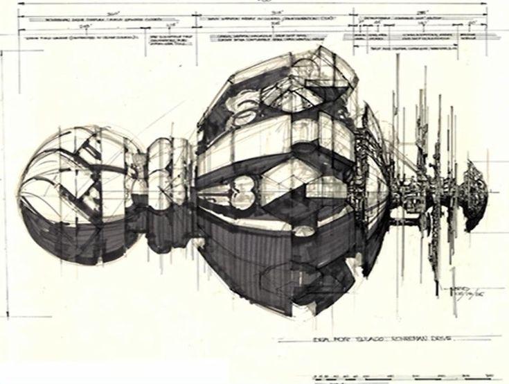 Rocketumblr | Syd Mead Aliens Concept Art
