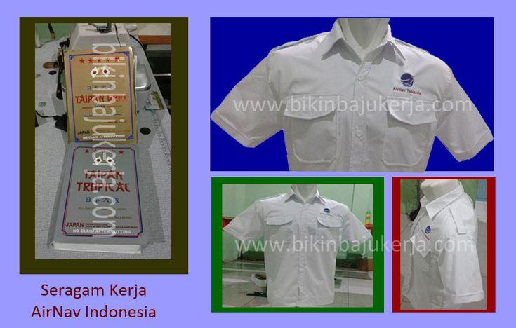 contoh seragam kerja airnav indonesia di medan