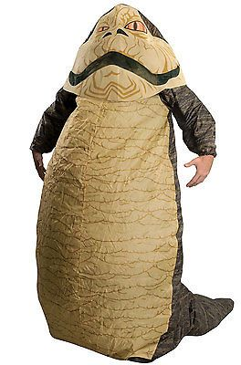 Brand New Star Wars Jabba the Hutt Inflatable Adult Costume
