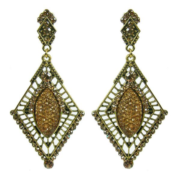 Soho Persia Earring - Copper $29.95 #leethal #accessories #fashion