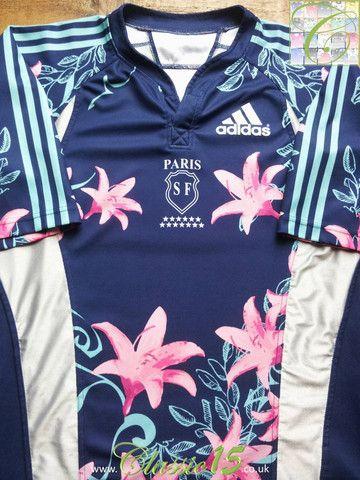 Relive Stade Français Paris' 2007/2008 season with this vintage Adidas home rugby shirt.