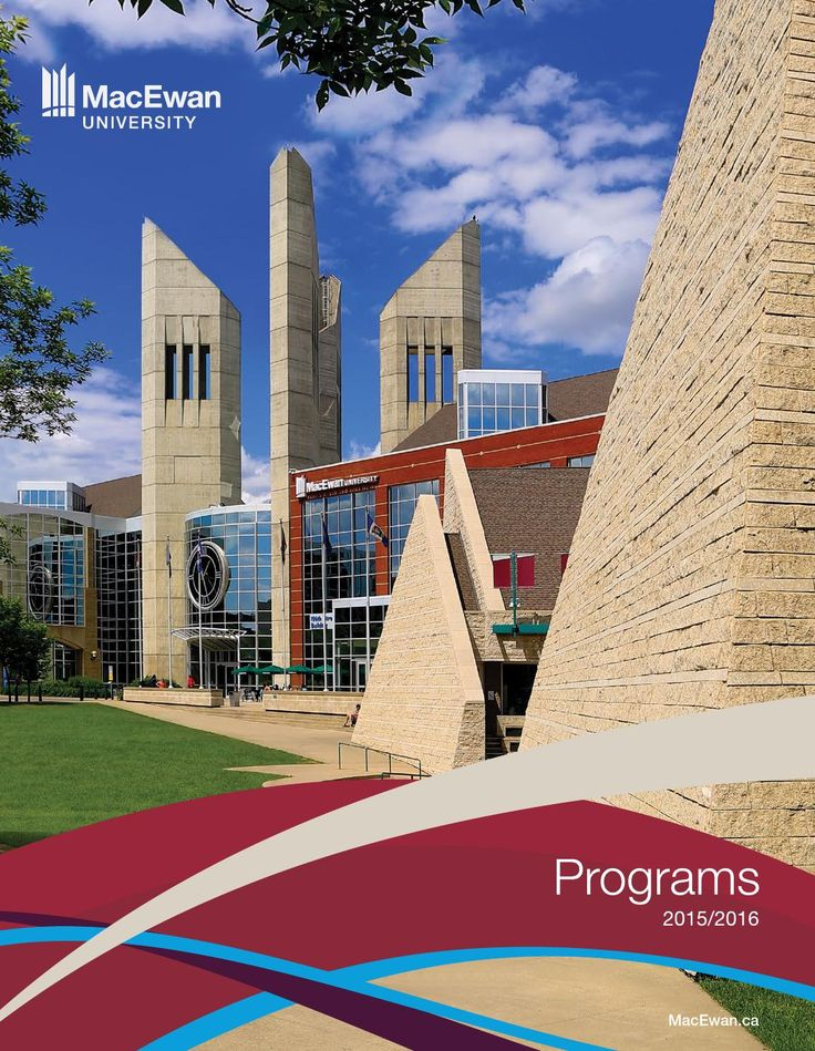 2015/16 MacEwan University Programs  A complete guide to MacEwan University's degrees, diplomas and certificates. Includes summaries of tuition fees, admission requirements and curricula.