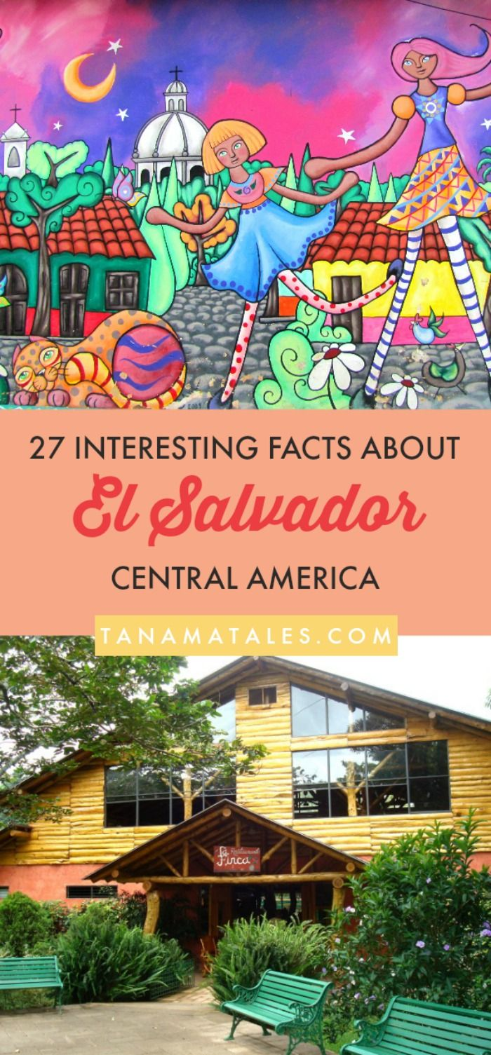 Things to do in El Salvador, Central America – Travel tips and ideas – Here are 27 interesting facts about El Salvador.  Learn more about the food (pupusas, quesadilla), culture, geography (volcanoes) and history of the country