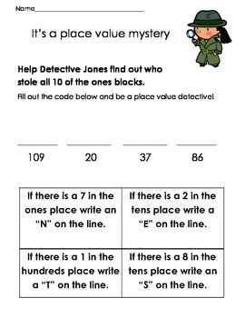 Place Value Detective