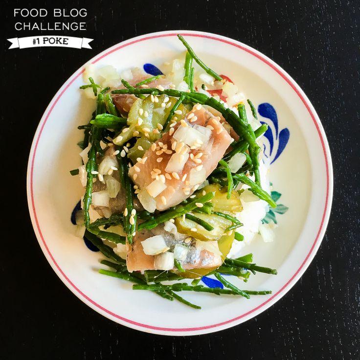 Hawaïaanse Poke Dutch style. Waan je even in het zonnige Hawaï en maak een salade van verse vis. Maak 'm met haring en zeekraal voor een Hollandse versie. Recept staat online.