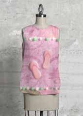 Pink flip flop top: What a beautiful product!