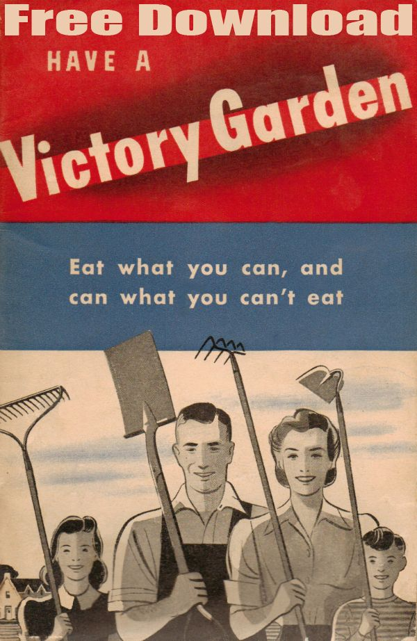 WWII Victory Garden Booklet download