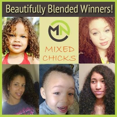 We are so excited to share the winners of a recent contest we co-hosted with Mixed Nation - an amazing site that celebrates diversity in all ethnicities. Congratulations to all of our beautiful winners! We hope you enjoy your prize and keep rocking your curls!