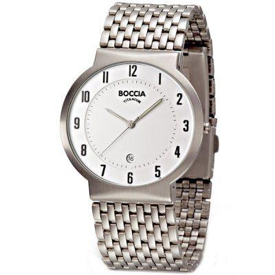 Boccia - Men\'s Boccia Titanium Watch - B3554-01 RRP: £115.00 - Online Price: £97.75