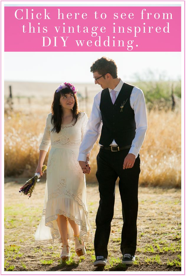 Click to see more from Tom + Sam's vintage inspired DIY wedding in Willcox, Arizona.  http://www.butterfieldphotos.com/maria/2013/10/16/arizona-wedding-tom-samantha/