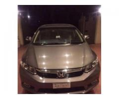 Honda Civic Model 2014 GPS System Installed New Tyre Sale In Islamabad