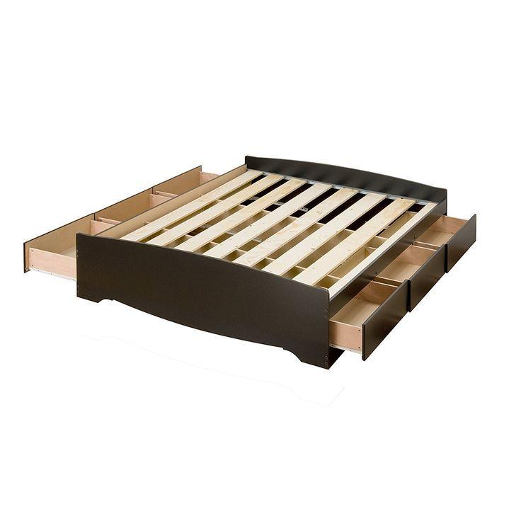 Full Size Plattform Bett Mit Kopfteil King Size Betten Mit Schubladen Darunter Preiswerte Plattform Bett Bettkas Storage Bed Queen Bed With Drawers Storage Bed