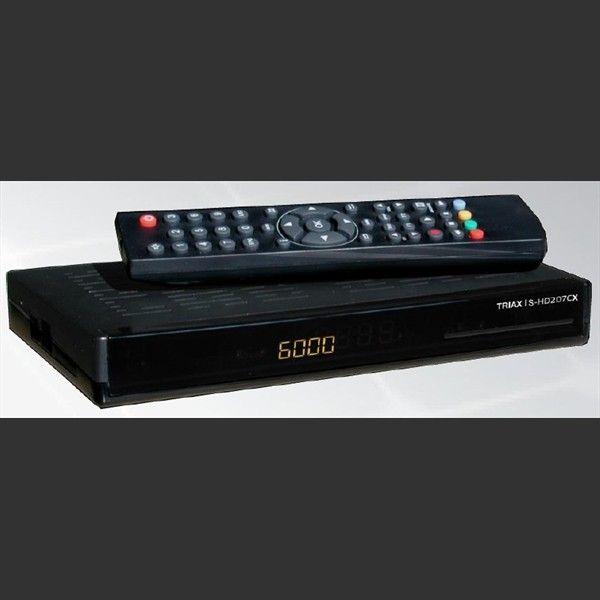 Triax Digital DVB-S2 mottaker HD 207 CX | Satelittservice tilbyr bla. HDTV, DVD, hjemmekino, parabol, data, satelittutstyr