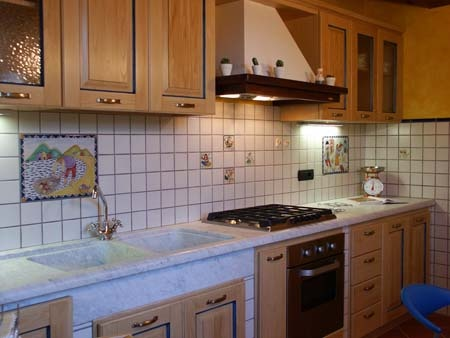 Holiday home in Lucca (Tuscany) Le Due Lanterne: The kitchen