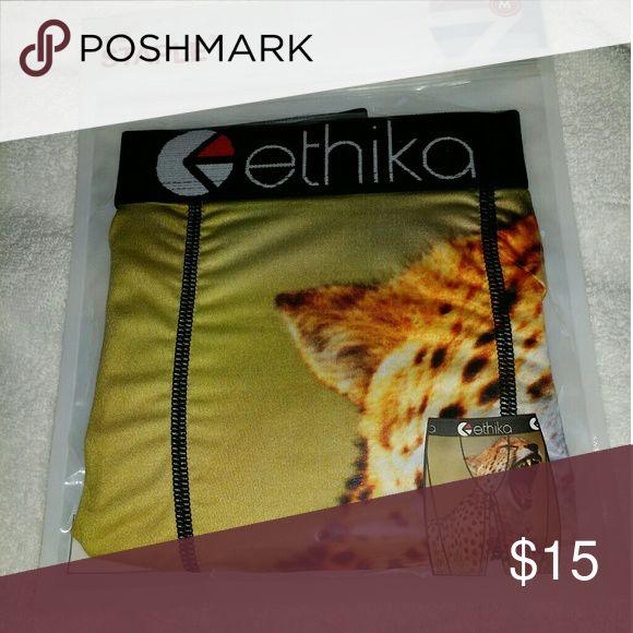 ETHIKA - Men's Boxer Briefs - M Brand New Sealed. Men's M 30-32 ETHIKA  Underwear & Socks Boxer Briefs