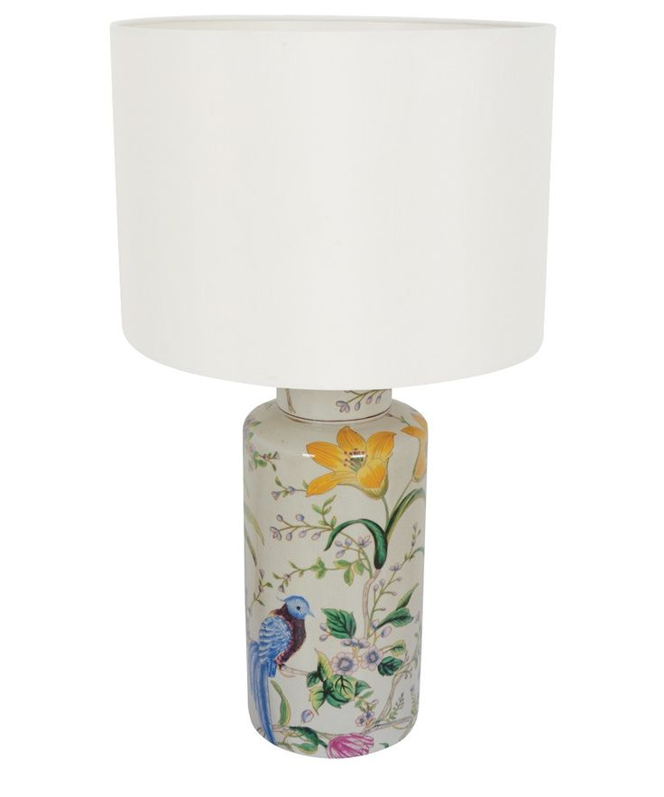 Melodie 1 Light Round Table Lamp